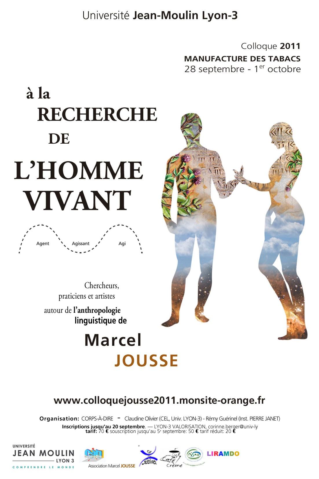 """COLLOQUE INTERDISCIPLINAIRE """"A LA RECHERCHE DE L'HOMME VIVANT"""""""